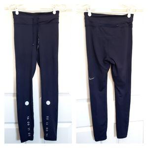 Nike blue tech leggings M